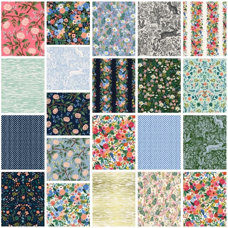 Cotton + Steel - Wildwood - Half Yard Bundle