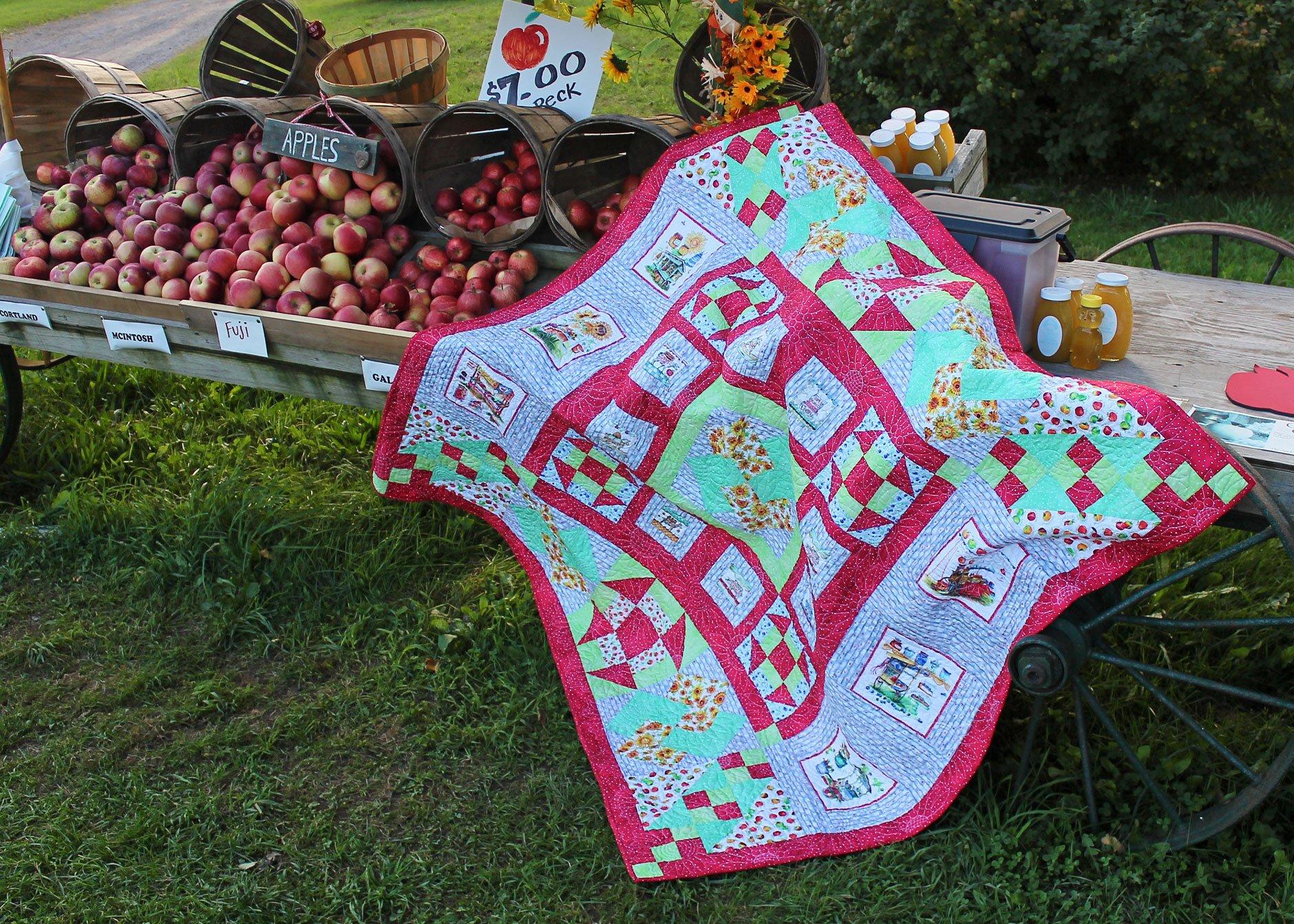 Boone's Fresh Farm Stand Fabric Kit
