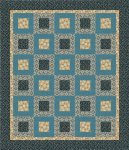 For Austin Quilt Pattern - Quilt Size 55 X 64