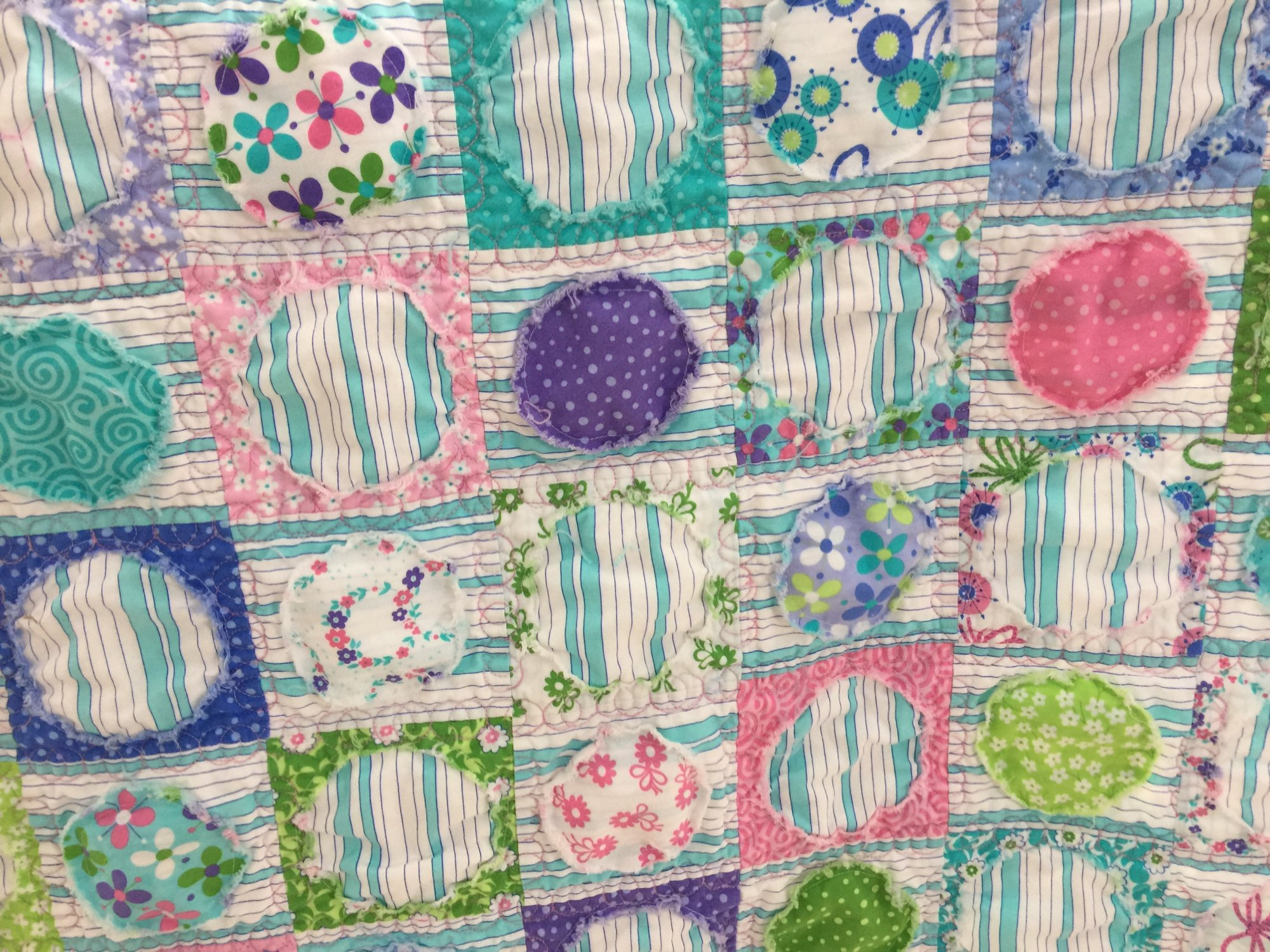 Innie Outie Quilt Fabric