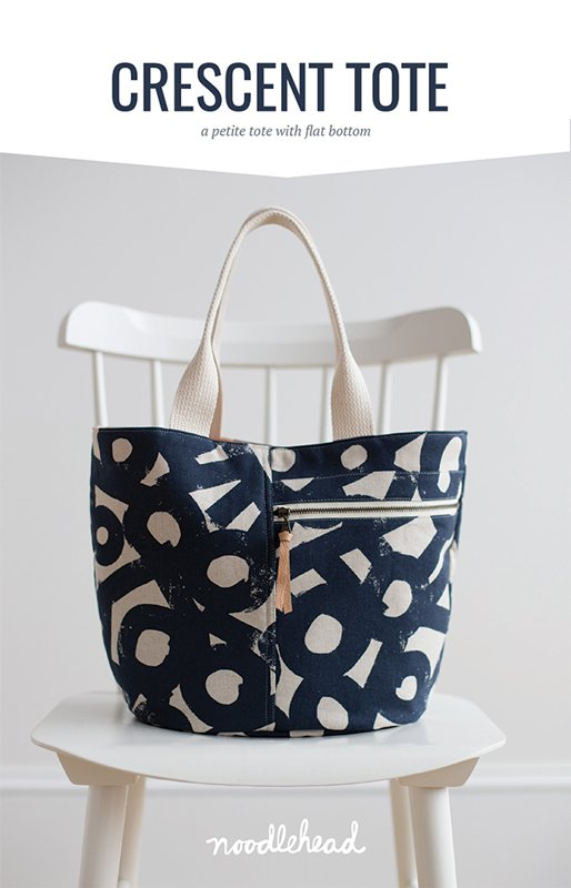Crescent Cotton Linen Canvas Tote Kit