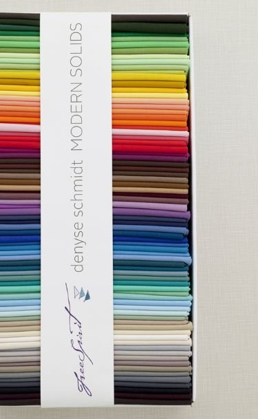 Denyse Schmidt Modern Solids 75 PC - 10 Charm Pack SOLD OUT