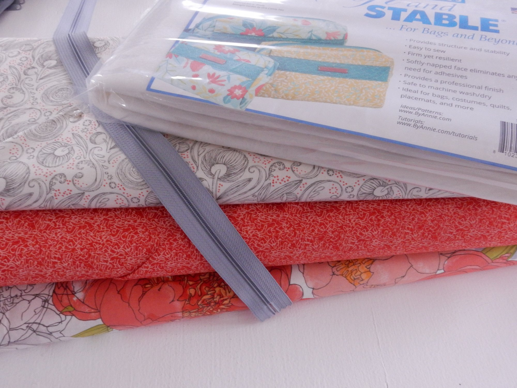 iCases Quilted Fabric & Notions Kit