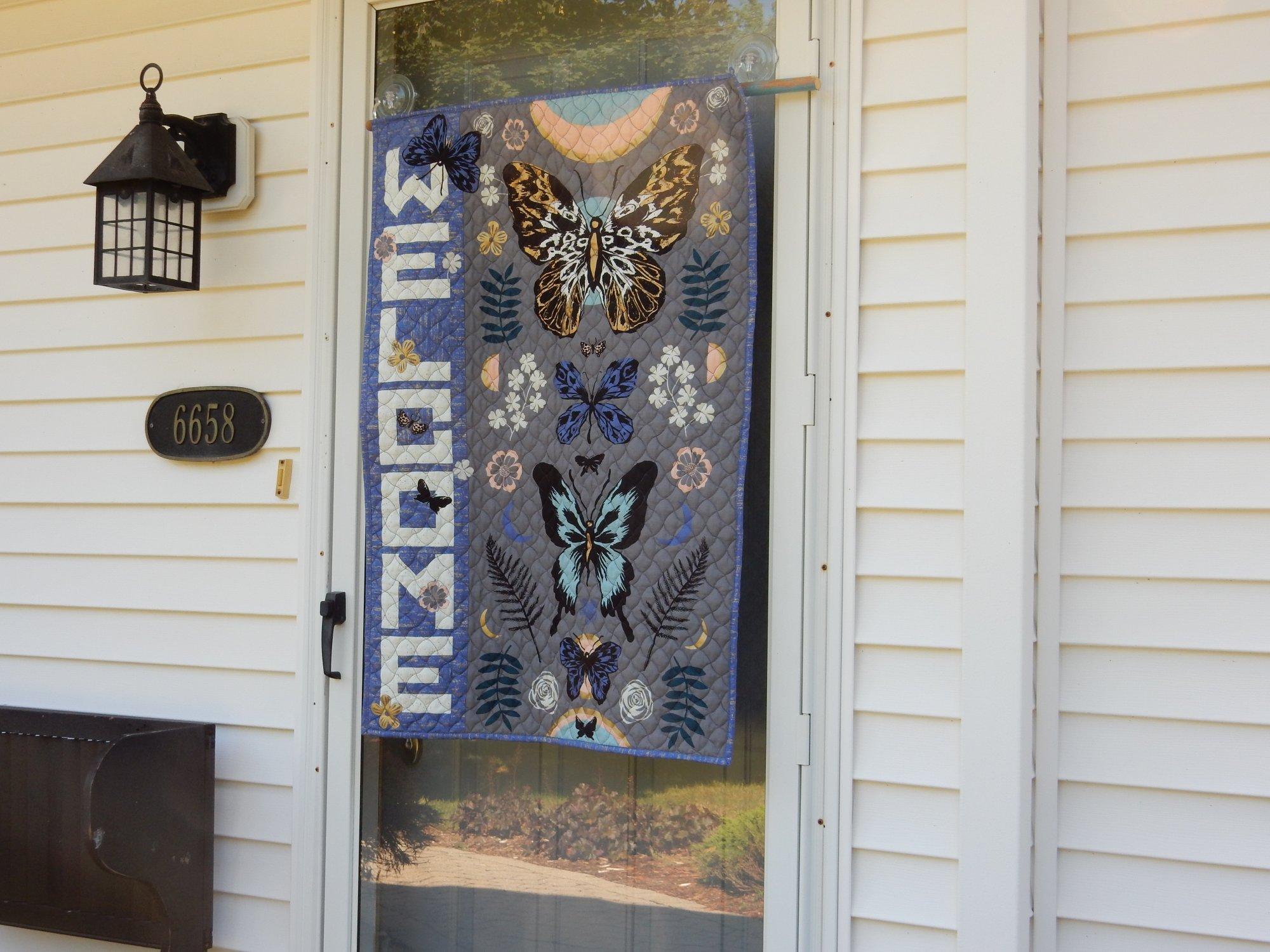 Welcome Butterflies Fabric Kit