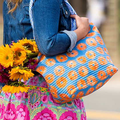 Flower Power Tote Pattern