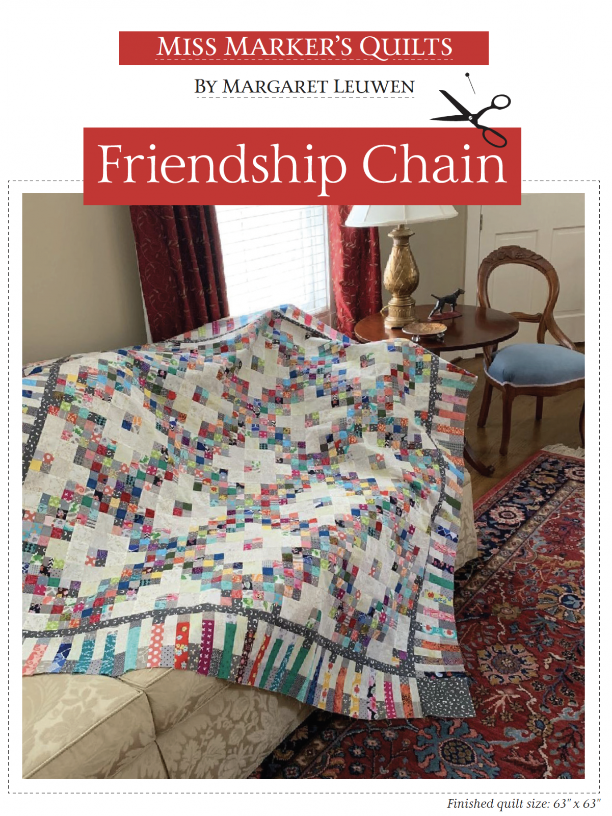 Friendship Chain Quilt Pattern (Printed)