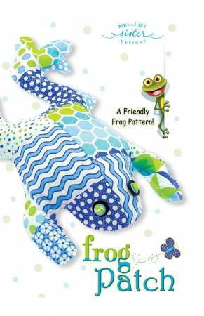 Frog Patch Pattern by Me & My Sister Designs