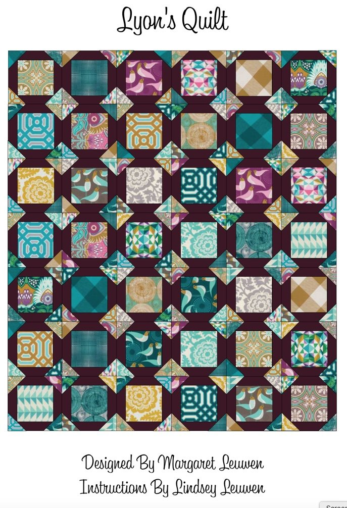 Lyon's Quilt (PDF Download)