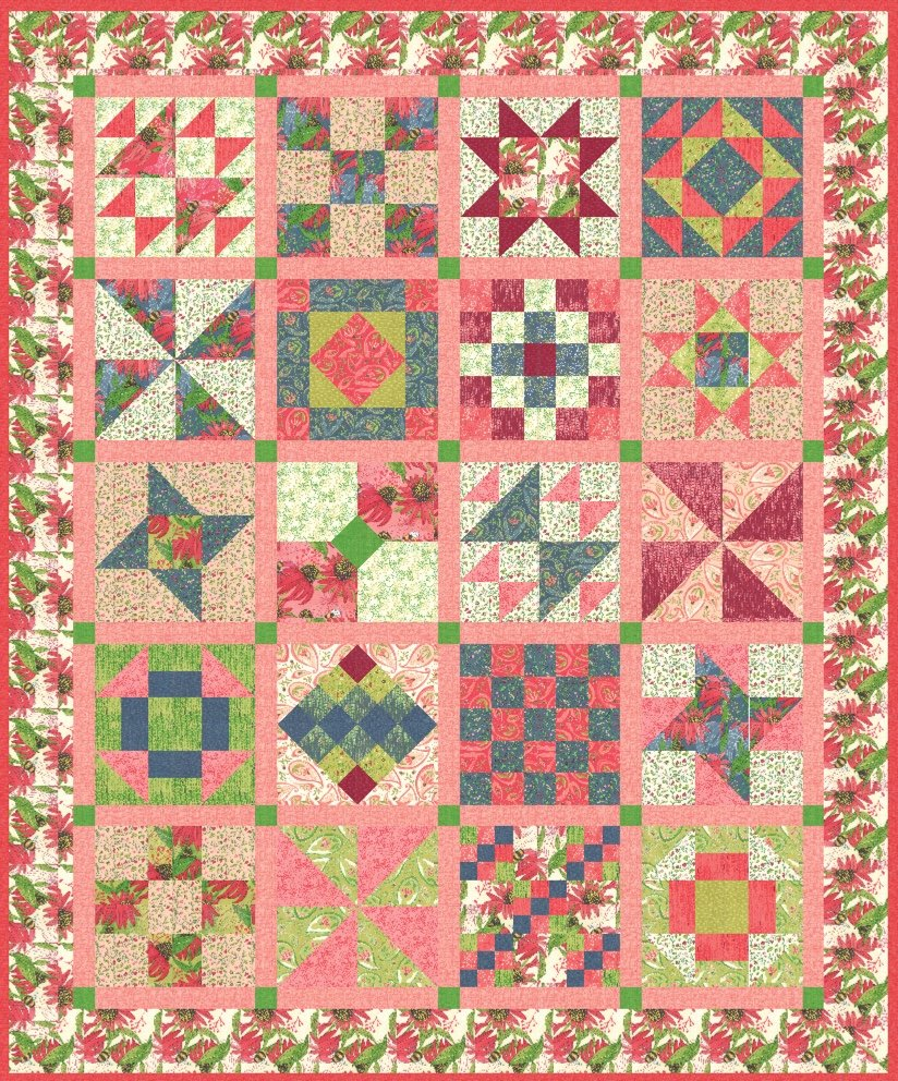 Spring Time Sampler - January