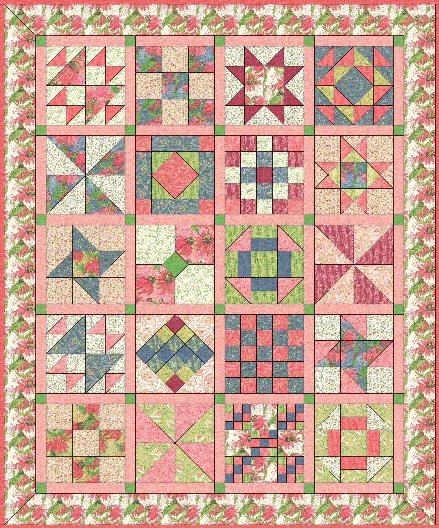 Spring Time Sampler Patterns - October