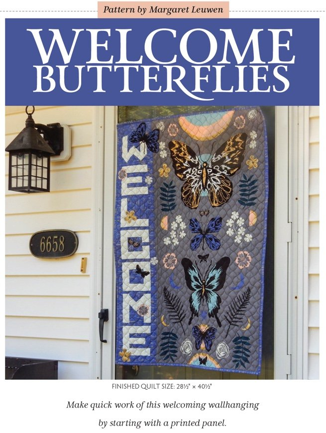 Welcome Butterflies Pattern (Now Available!)