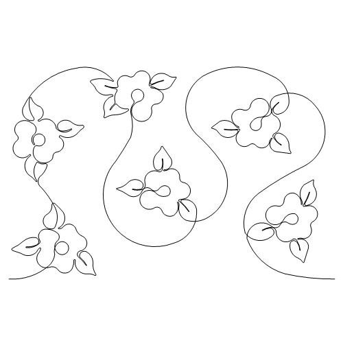Lightly Flowered B2B