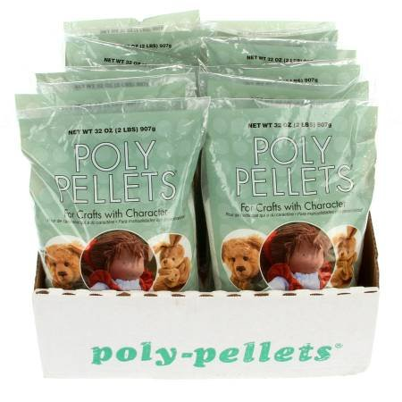 Poly Pellets Weighted Stuffing Beads Easy Pour and Store 24oz