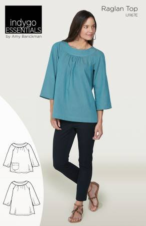 Indigo Junction - Raglan Top