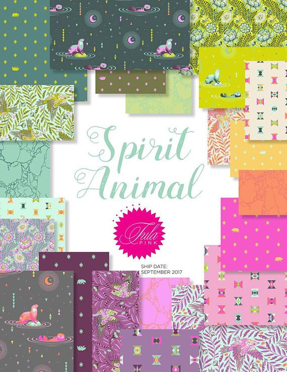 * ON SALE * Tula Pink's Spirit Animal Fat Quarter Bundle