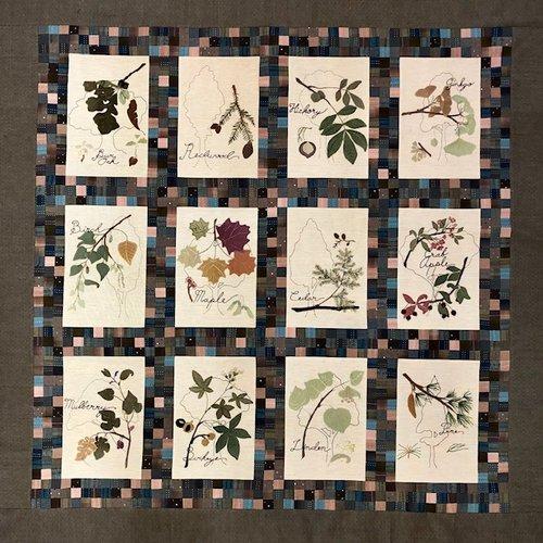 An Arborists Journal Quilt