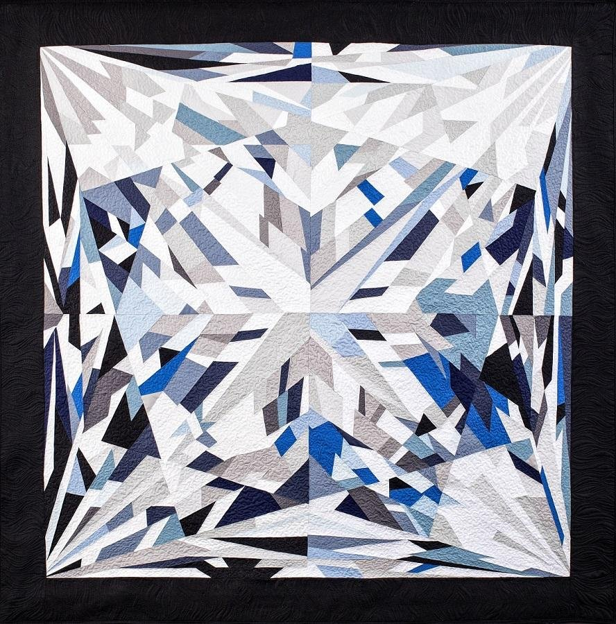 Elizabeth Princess Cut Diamond Quilt Kit