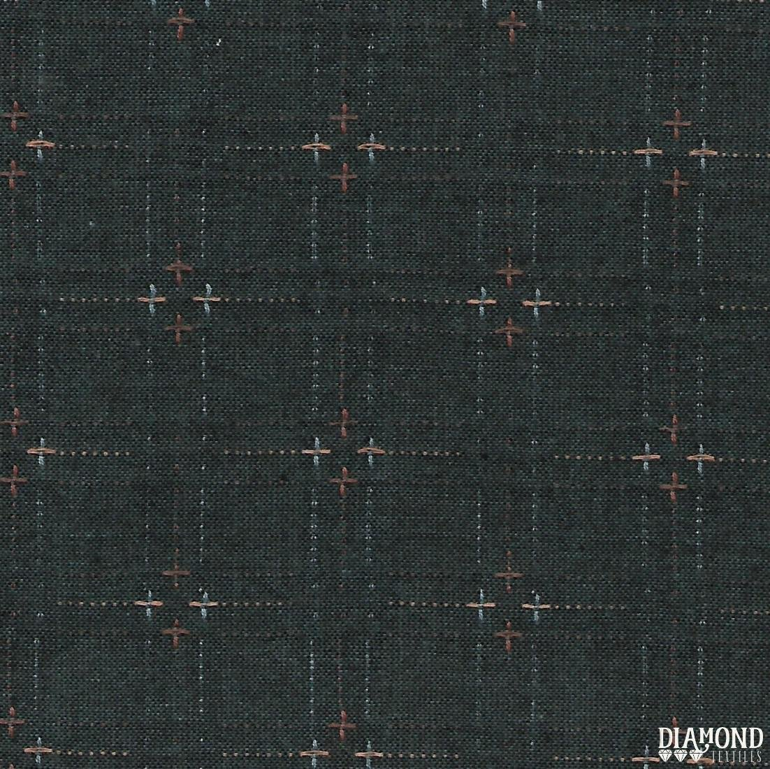 Diamond Textiles Niko Indigo Granite