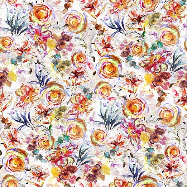Hoffman Challenge - Spring Floral