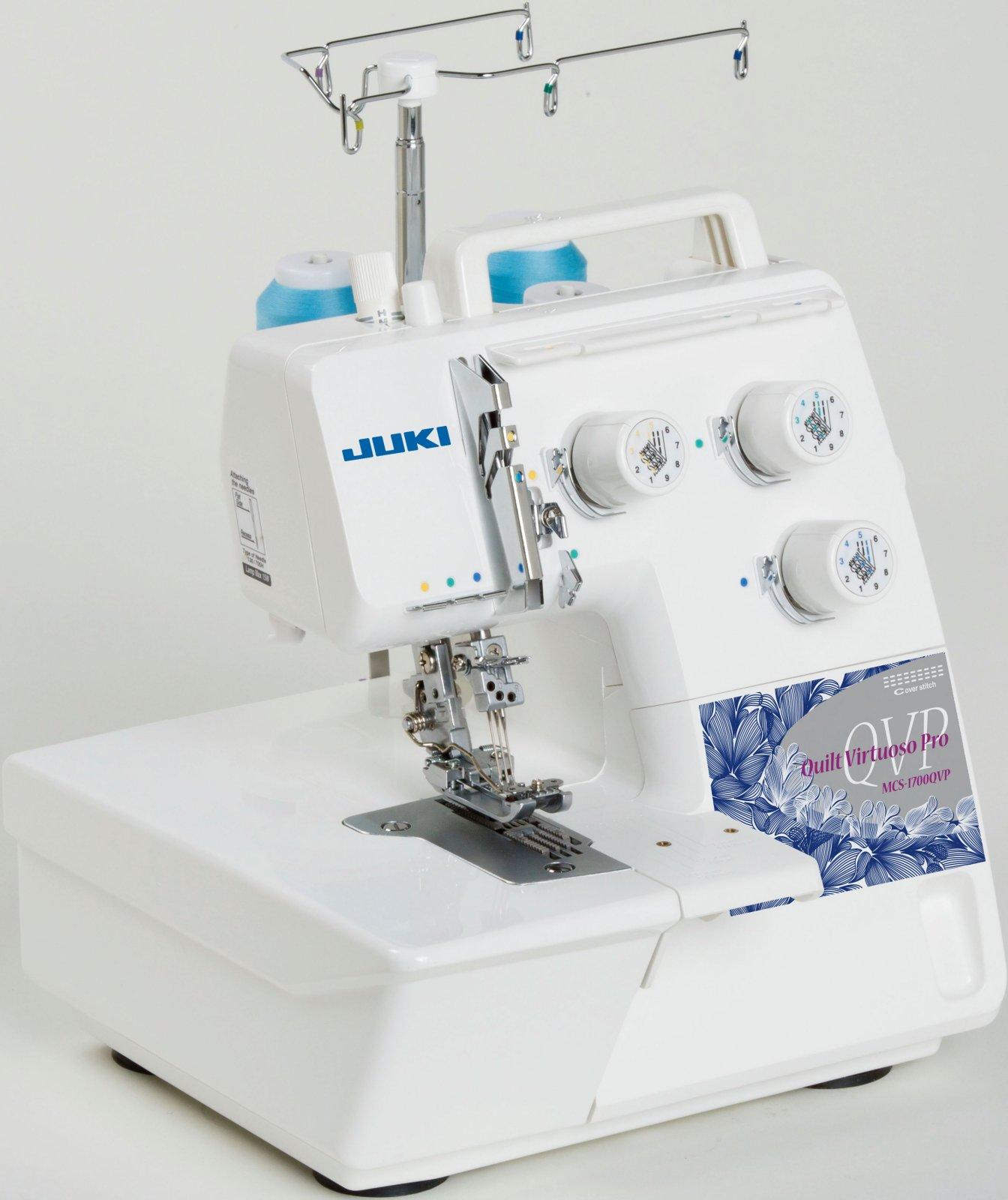 JUKI MCS-1700 QVP Coverstitch & Chain Stitch Machine