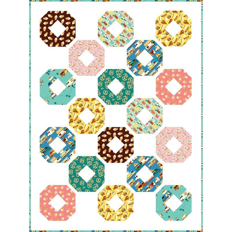 Free Quilt Pattern - Donut Envy from Paintbrush Studios