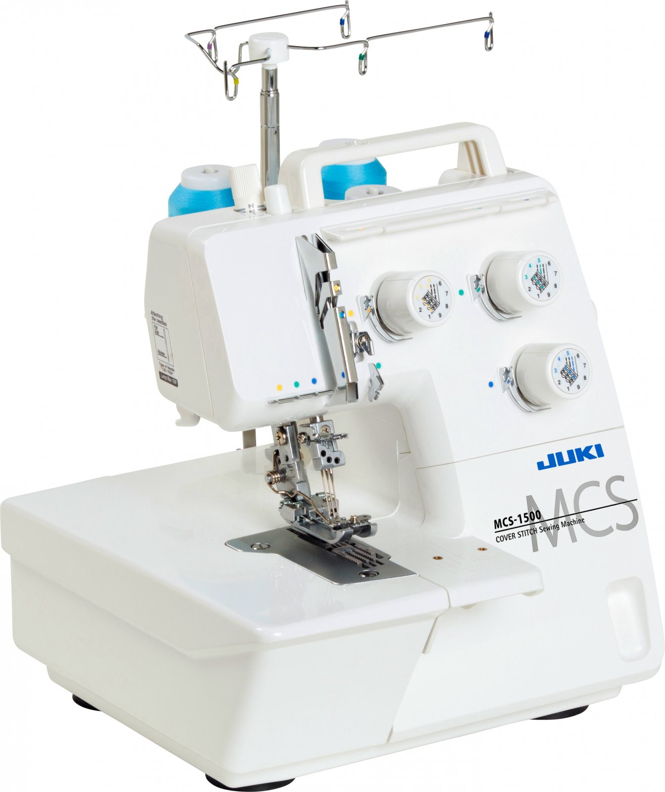 JUKI MCS-1500 Coverstitch & Chain Stitch Machine