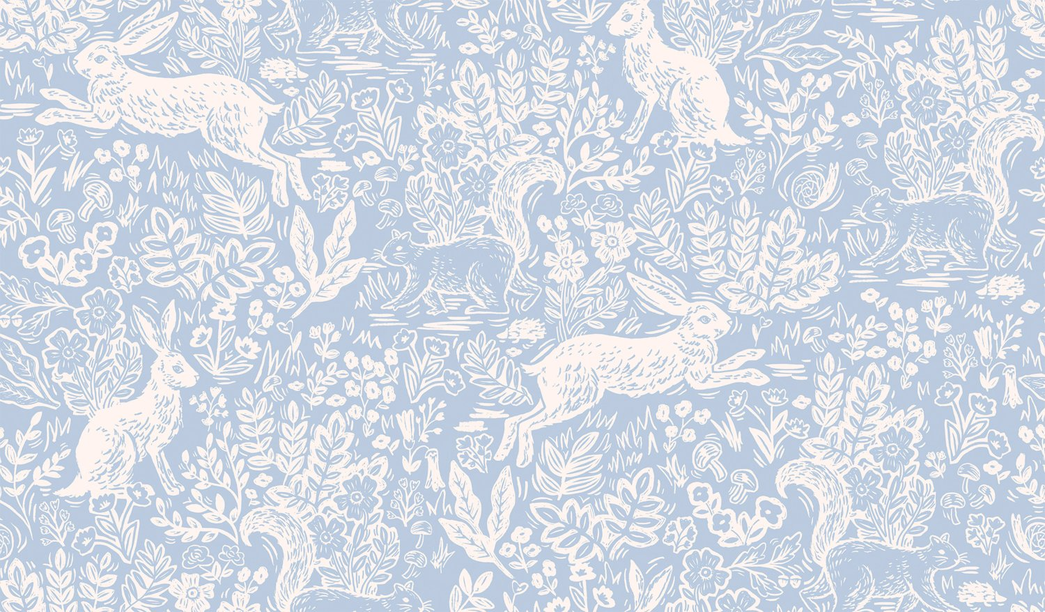 Fable - Blue Wildwood - Rifle Paper Co.