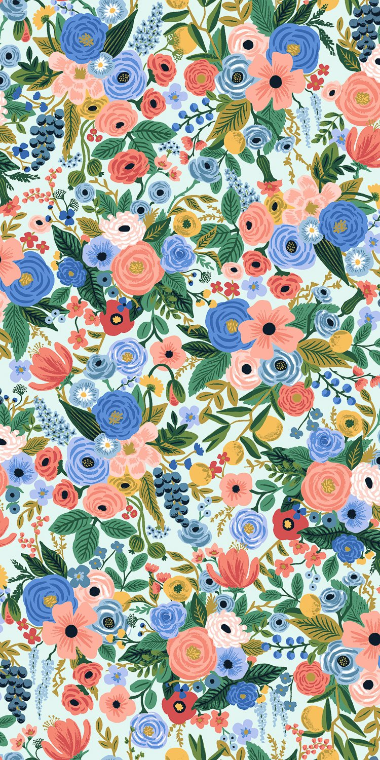 Petite Garden Party - Blue Wildwood - Rifle Paper Co.