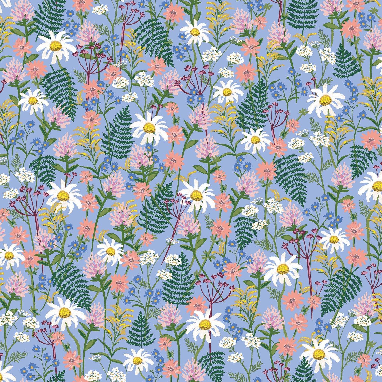Wildflowers - Blue Wildwood - Rifle Paper Co.