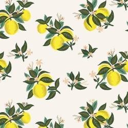 Citrus Blossom Lemon Rayon - Primavera - Rifle Paper Co.