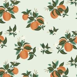 Citrus Blossom Orange Rayon - Primavera - Rifle Paper Co.