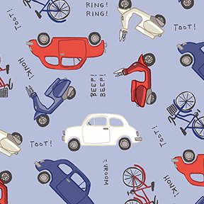 Vehicles - Periwinkle