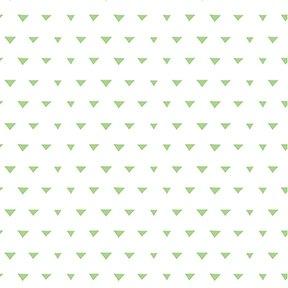 Triangles - White/Mint