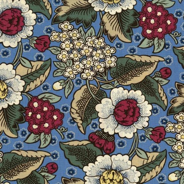 Home Again - Garden - Blue/Multi Fabric