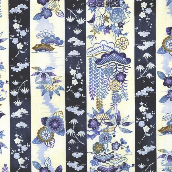 Indigo Essence - Seasons - Blue Fabric