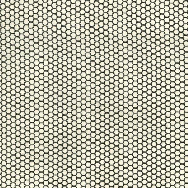 Queen Bee - Honeycomb - Pearl Fabric