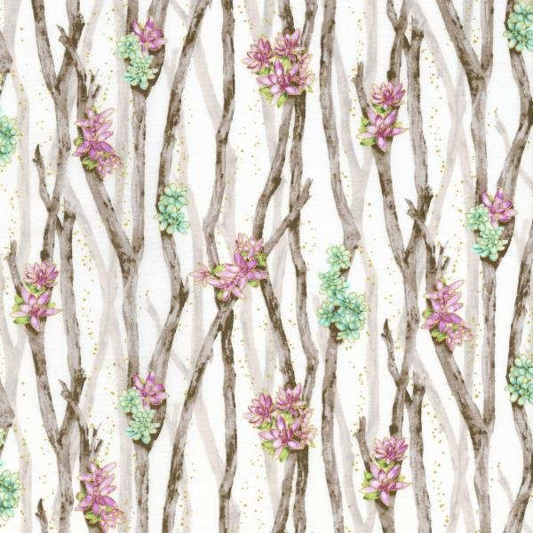 Oasis - Desert Breeze - Thistle Fabric