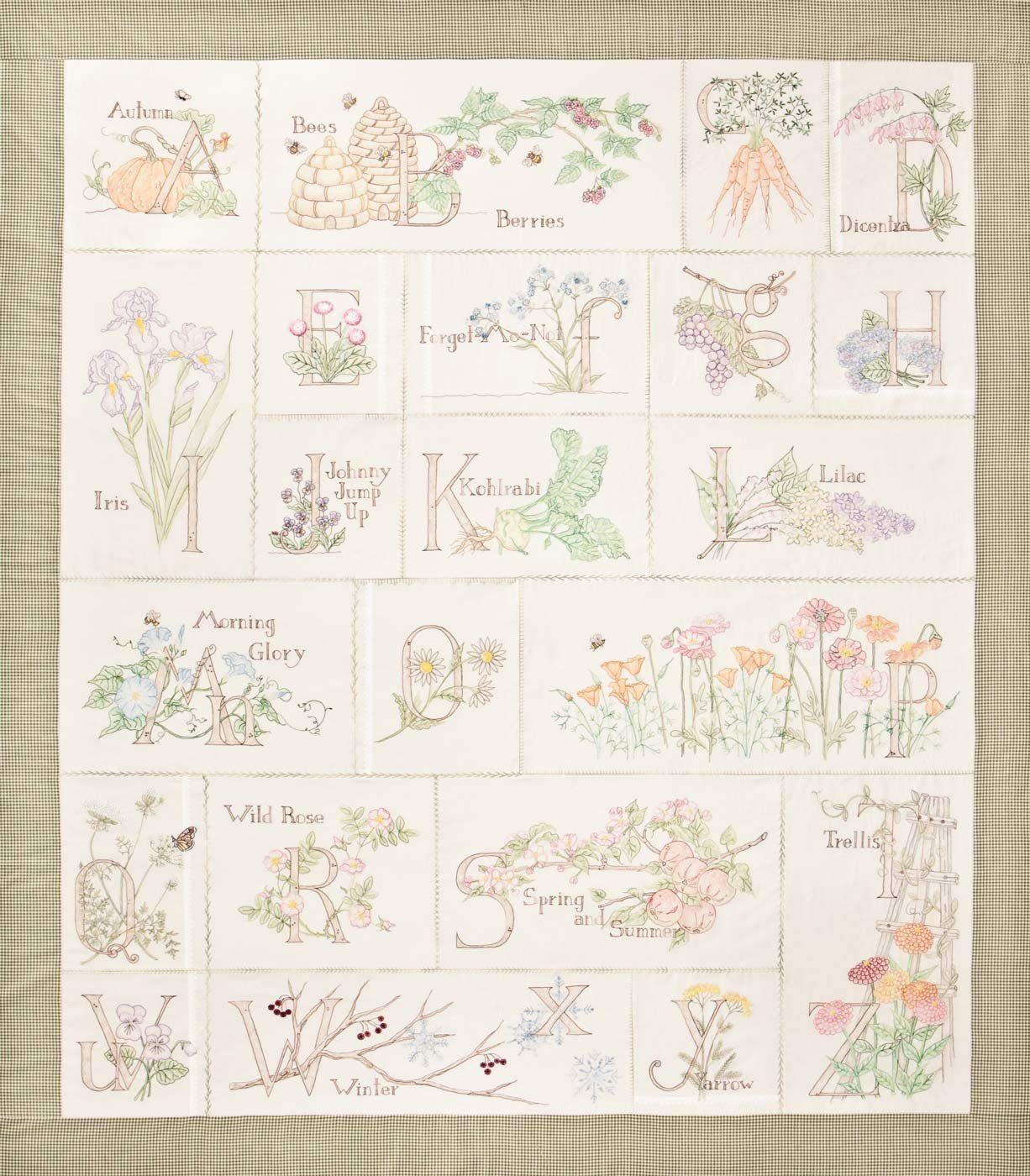 Gardener's Alphabet -Full set
