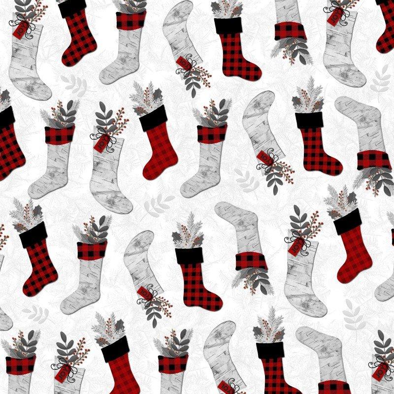 Holiday Homecoming Fabric