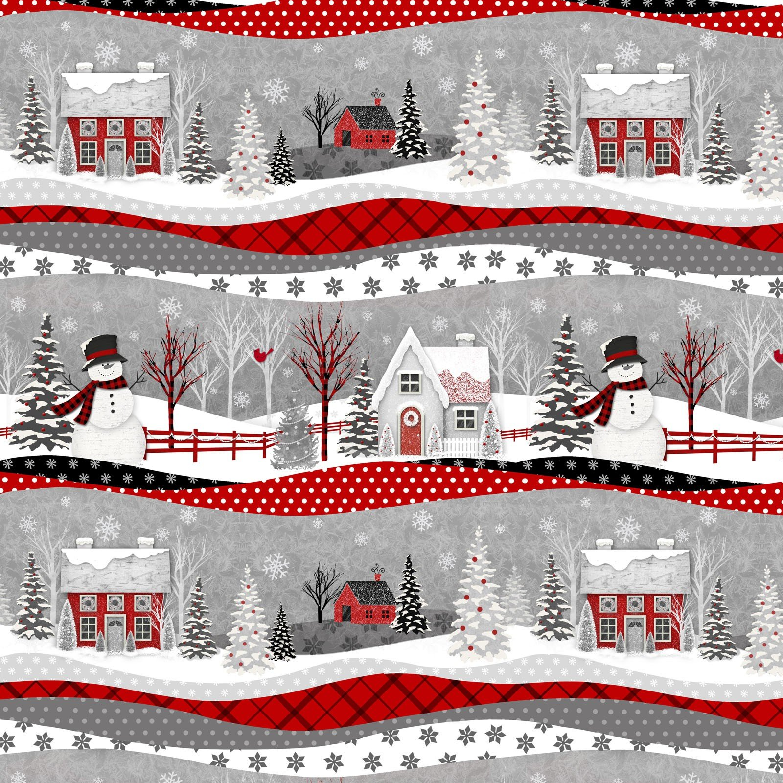 Holiday Homecoming Fabric