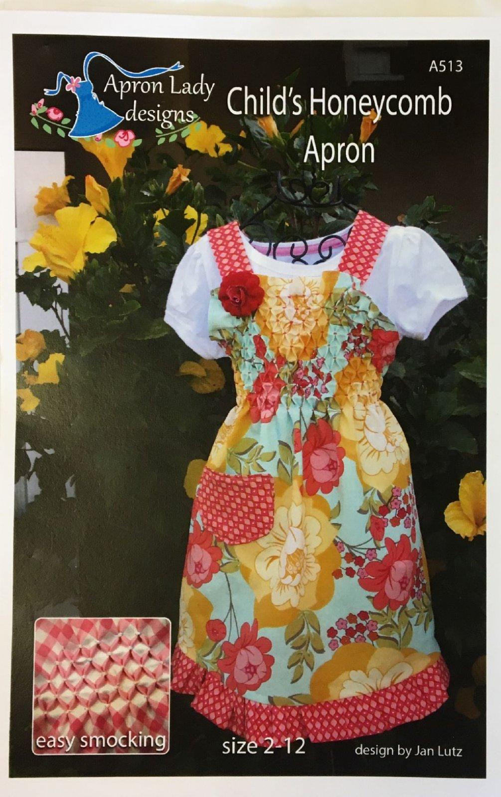 Child's Honeycomb  Apron