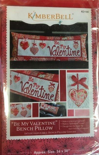 Be My Valentine Bench Pillow Kit