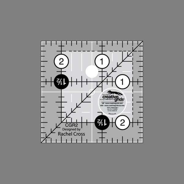 Creative Grids Quilting Ruler 2 1/2in Square
