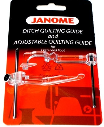 Ditch Quilting Guide and Adjustable Quilting Guide
