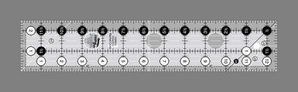 Creative Grids Quilting Ruler 2 1/2in x 12 1/2in