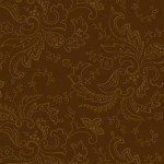 Color Wall Chestnut Paisley