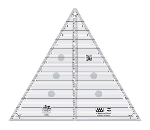 Creative Grids 60 degree Triangle 12 1/2in