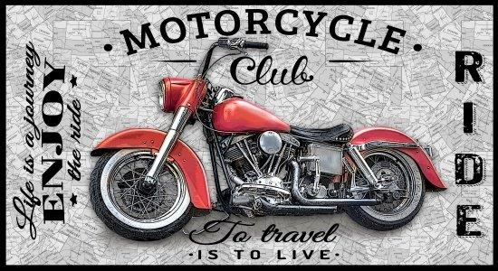 Motorcycle Panel - Coast to Coast