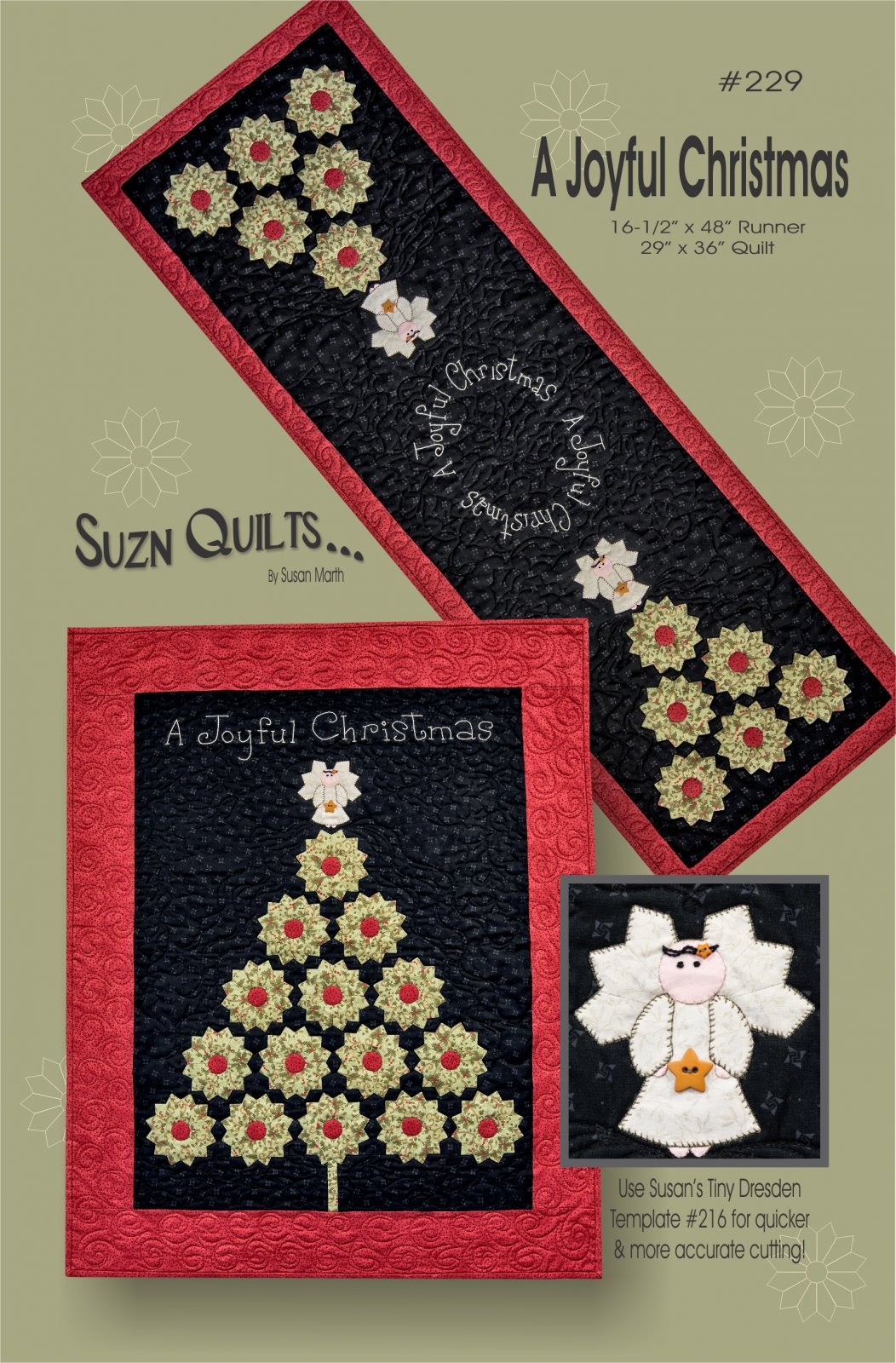 A Joyful Christmas Quilt Kit