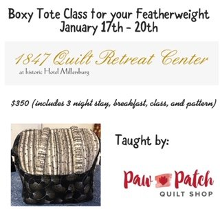 Boxy Tote Featherweight Retreat